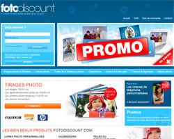 Page d'accueil de Fotodiscount