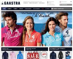 Page d'accueil de Gaastra