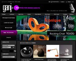 Page d'accueil de Ganj