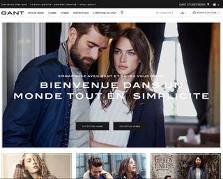 Page d'accueil de Gant