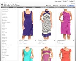 Page d'accueil de Giglio