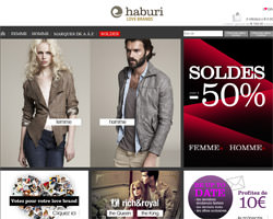 Page d'accueil de Haburi