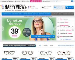Page d'accueil de Happyview