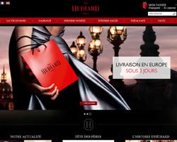 Page d'accueil de Hediard