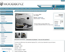 Une fiche produit de Hoodboyz