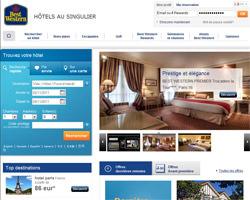 Page d'accueil de Hotel Best Western