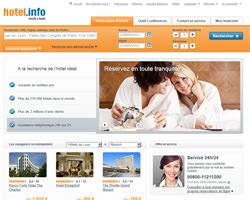 Page d'accueil de hotel.info