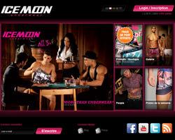 Page d'accueil de Ice Moon