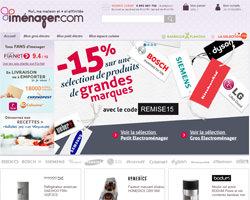 Page d'accueil de Imenager