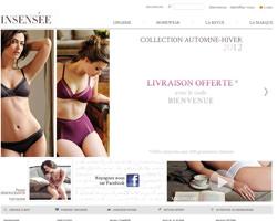 Page d'accueil de Insensée