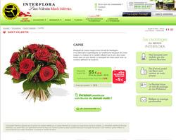 Une fiche produit de Interflora