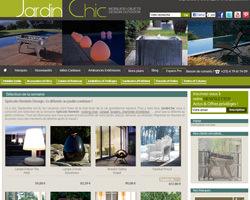 Page d'accueil de Jardin Chic