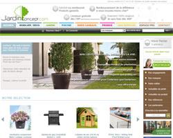 Page d'accueil de Jardin Concept