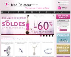 Page d'accueil de Jean Delatour