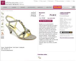 Une fiche produit de Jef Chaussures