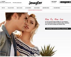 Page d'accueil de Jennyfer