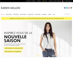 Page d'accueil de Karen Millen