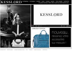 Page d'accueil de Kesslord