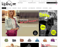 Page d'accueil de Kipling