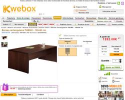 Une fiche produit de Kwebox