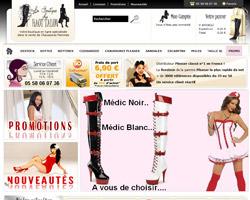 Page d'accueil de La boutique du Haut Talon