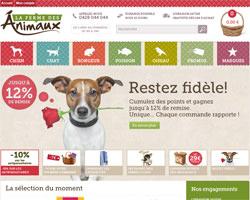 Page d'accueil de La ferme des animaux