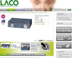 Une fiche produit de Laco Shop