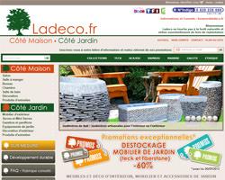 Page d'accueil de Ladeco