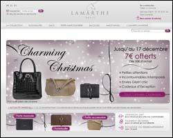 Page d'accueil de Lamarthe