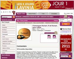 Une fiche produit de Lavinia