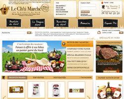 Page d'accueil de Le Ch'ti Marché