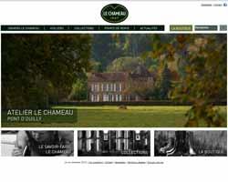 Page d'accueil de Le Chameau