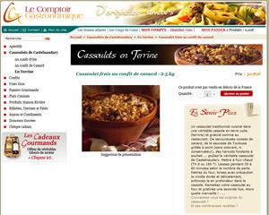 Une fiche produit de Le Comptoir Gastronomique