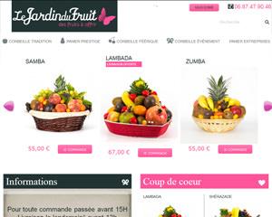 Page d'accueil de Le Jardin du Fruit