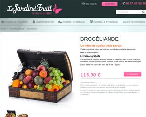 Une fiche produit de Le Jardin du Fruit