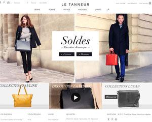 Page d'accueil de Le Tanneur