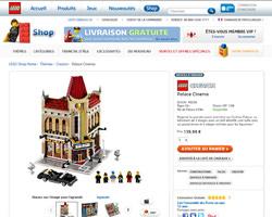 Une fiche produit de Lego