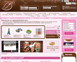 Page d'accueil de Les Jouets en Bois