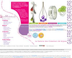Page d'accueil de Les Poulettes
