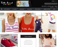 Page d'accueil de Little Marcel