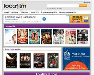 Page d'accueil de Locafilm