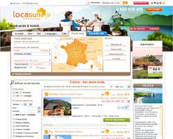 Page d'accueil de Locasun