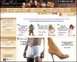 Page d'accueil de Loucaline