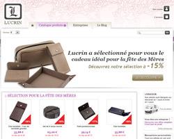 Page d'accueil de Lucrin