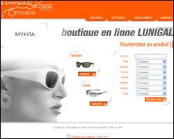 Page d'accueil de Lunigal