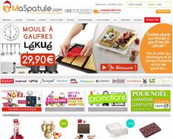 Page d'accueil de Ma Spatule