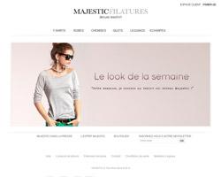 Page d'accueil de Majestic Paris