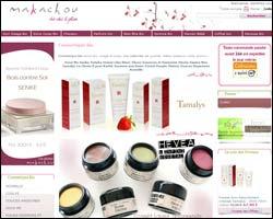 Page d'accueil de Makachou