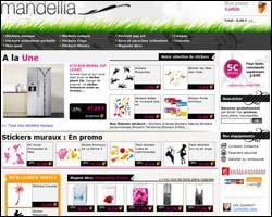 Page d'accueil de Mandellia