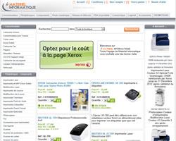 Page d'accueil de Materiel-informatique
